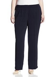 Jones New York Women's Plus-Size Sloane Soft Suiting Pant