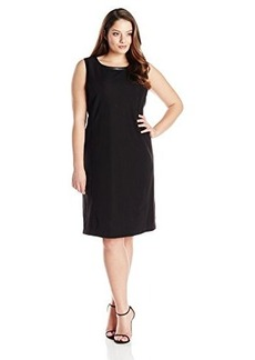 Jones New York Women's Plus-Size Slvless Dress