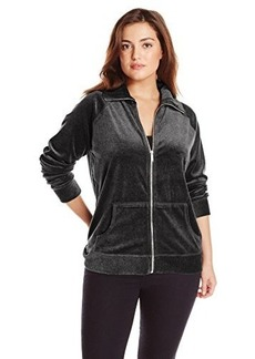 Jones New York Women's Plus-Size Zip Front Jacket