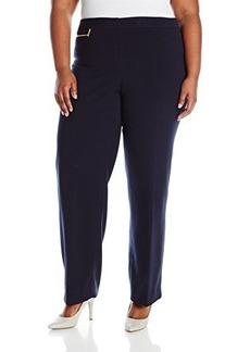 Jones New York Women's Plus-Size Zoe Zip Detail Pant