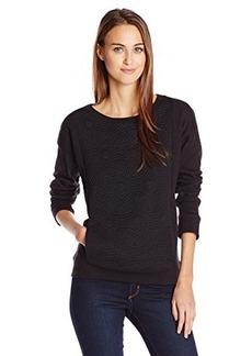 Jones New York Women's Quilted Front Pullover