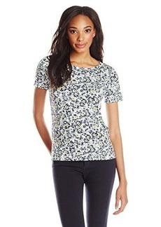Jones New York Women's Short Sleeve T-Shirt Multi
