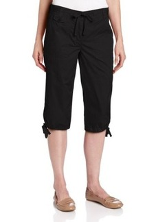 Jones New York Women's Skimmer Utility Pant With Dstring