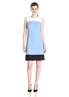 Jones New York Women's Sleeveless A-Line Dress