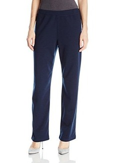 Jones New York Women's Slim Leg Ponte Pant