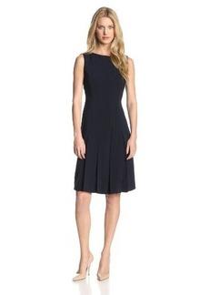 Jones New York Women's Soft Dress with Pleats