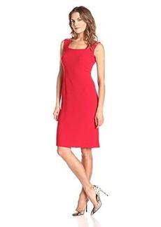 Jones New York Women's Square Neck Shift Dress