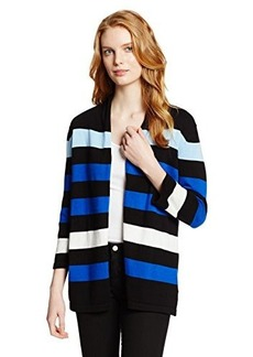 Jones New York Women's Stripe Cardigan