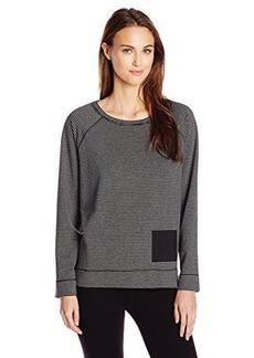 Jones New York Women's Stripe Pullover with Pocket