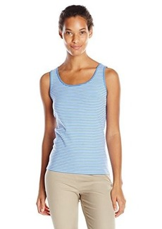 Jones New York Women's Stripe Scoop Neck Tank