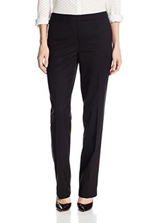 Jones New York Women's Sydney Pant Solid Seasonless Stretch