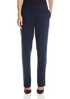 Jones New York Women's Sydney Seasonless Straight Pant