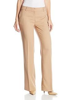 Jones New York Women's The Zoe Double Welt Pocket Pant - Camel