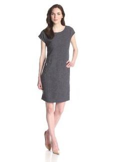 Jones New York Women's Tunic Dress with Zipper Pockets