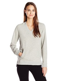 Jones New York Women's V-Neck Pullover with Rib