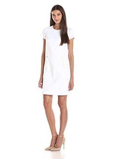 Jones New York Women's Zipper Trim Tee-Dress