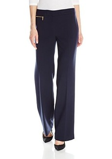 Jones New York Women's Zoe Zip Detail Pant