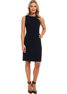 Jones New York Woven Trimmed Dress