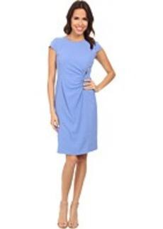 Jones New York Zipper Waist Wrap Dress