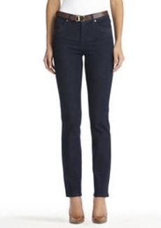 Lexington Straight Leg Indigo Jeans with Bling