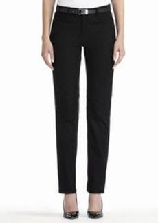 Lexington Straight Leg Jacquard Woven Jeans (Petite)