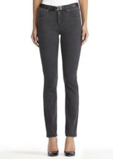 Lexington Straight Leg Jeans with Bling