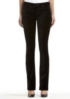 Lexington Straight Leg Velvet Jeans (Plus)