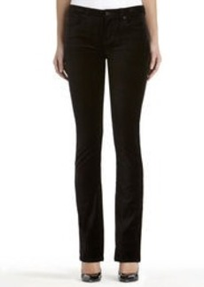 Lexington Straight Leg Velvet Jeans (Plus)