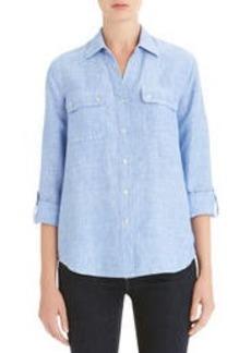 Linen Easy Shirt (Petite)