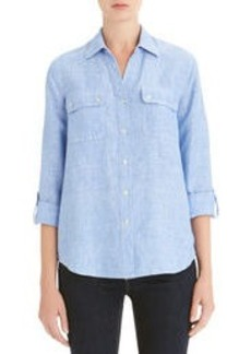 Linen Easy Shirt (Plus)