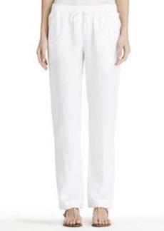 Linen Pull-On Pants