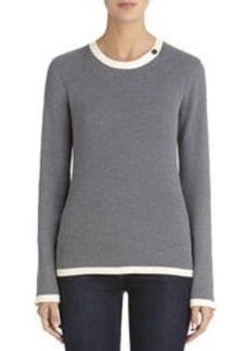Long Sleeve Colorblock Sweater