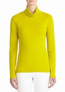 Long Sleeve Cotton Turtleneck (Petite)