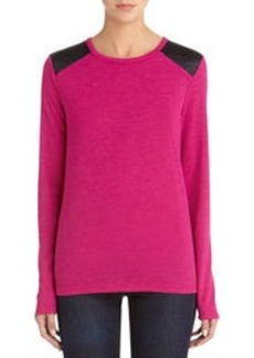 Long Sleeve Crew Neck Pullover