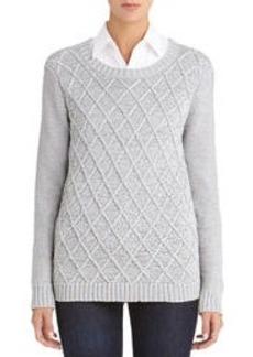 Long Sleeve Crew Neck Sweater