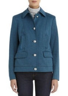 Long Sleeve Jacket with Pocket Detail