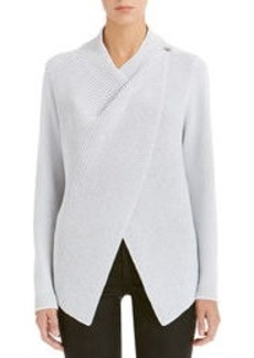 Long Sleeve Open Front Cardigan (Plus)