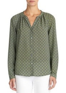 Long Sleeve Peasant Blouse