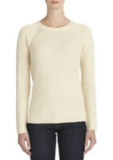 Long Sleeve Pullover Sweater (Plus)