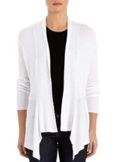 Long Sleeve Shawl Cardigan Sweater (Petite)