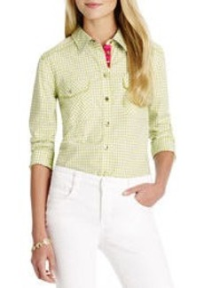 Long Sleeve Shirt with 2 Pockets (Petite)