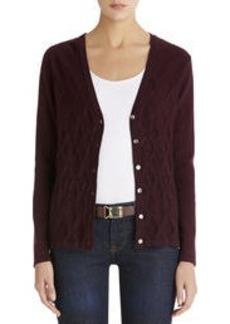 Long Sleeve V-Neck Cardigan Sweater