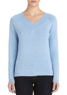 Long Sleeve V-Neck Pullover Sweater