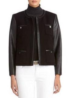 Long sleeve Zip Front Jacket