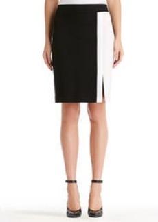 Lucy Colorblock Pencil Skirt (Plus)