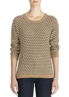 Marled Scoop Neck Sweater