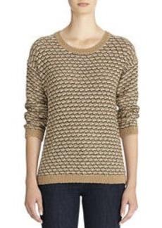 Marled Scoop Neck Sweater