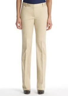 Modern Cotton Sateen Stretch Pants