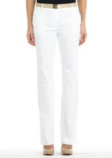 Modern Cotton Sateen Stretch Pants (Plus)
