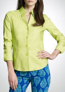 No-Iron Easy-Care Fitted Shirt